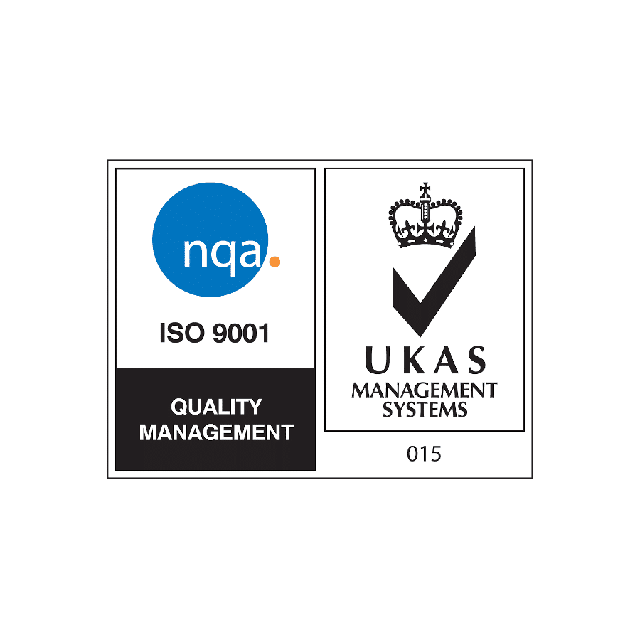 NQA ISO9001 logo for Quality Management